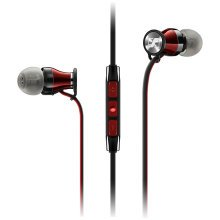 Sennheiser M2 IEi Momentum 2 In-Ear Headphones For Apple - Red/Black