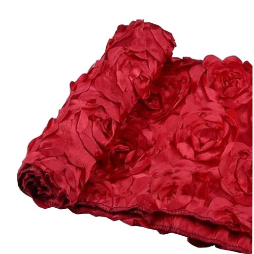 Newborn Photography Props Baby Photography Rose Mat [Red]