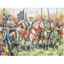 FRENCH WARRIORS (100 YEARS WAR) - SOLDIERS 1:72 - Italeri 6026