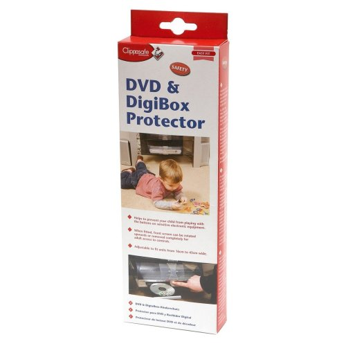 Clippasafe Dvd and Digibox Protector