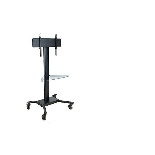 Peerless SR560G Portable Black flat panel floorstand