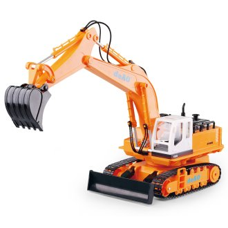 deAO Toys RC Excavator Truck | Remote Controlled Construction Truck