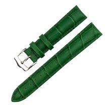 Green Women Watch Strap/Watch Band Wrist Replacement Pin Buckle 22MM