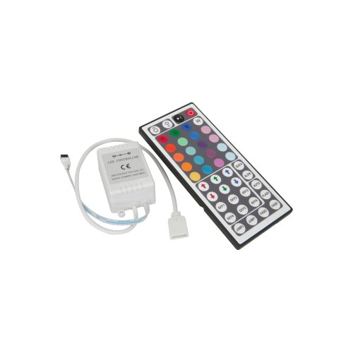RGB Tape Controller with 44 Key IR Remote