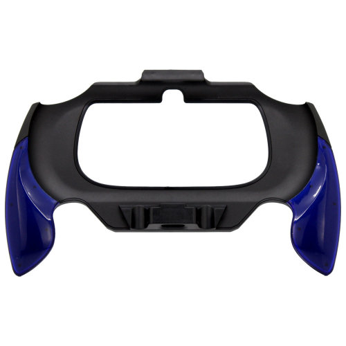 Grip for PS Vita Slim 2000 Sony console handle attachment ZedLabz - Black Blue