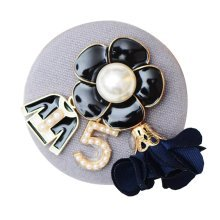 Flower Brooch Fashion Accessories For Jacket Hat Badge