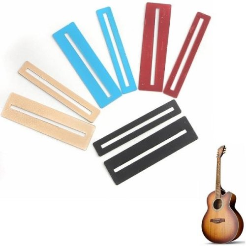 2 pcs Colorful Stainless Steel Fretboard Protector for Guitar