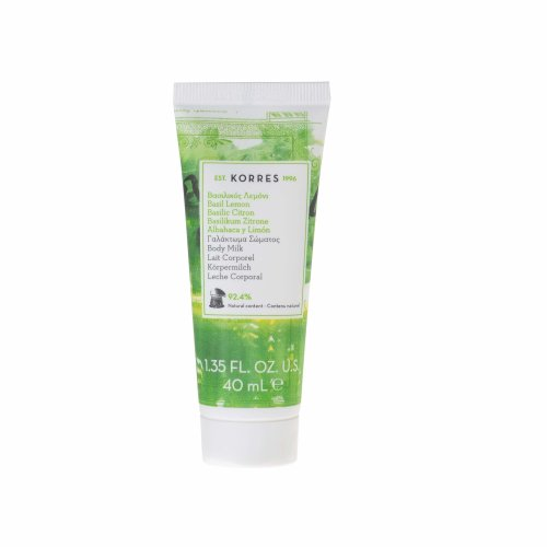 KORRES Travel Size Basil Lemon Body Milk 40 ml