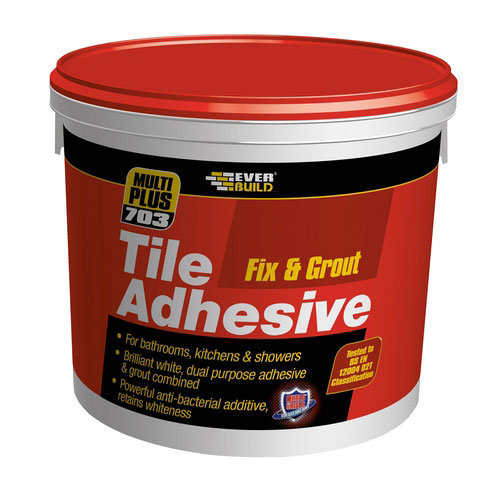 Everbuild 703 Fix And Grout Tile Adhesive 5 Litre
