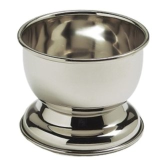 Colonel Ichabod Conk Stainless Steel Shave Cup