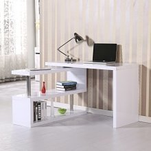 Homcom High Gloss Computer Pc Desk