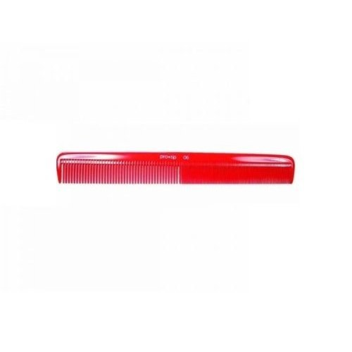 Pro-tip Ptc06 Military Red - 222mm -  comb pro tip red hairdressing military