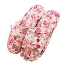 House Shoes/Beautiful Cotton Slippers/Silent Ladies Slippers