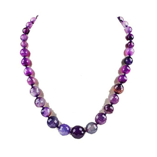 Stunning Agate Gemstone Necklace for Womens and Girls