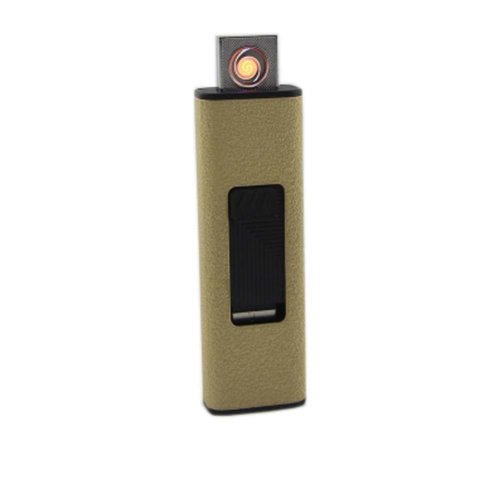 Rechargeable Double-sided Lighter Windproof Cigarette Lighter for Men/Women, C