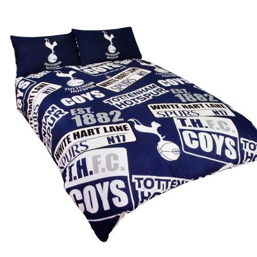 Tottenham Hotspur FC Childrens/Kids Official Patch Football Crest Duvet Set