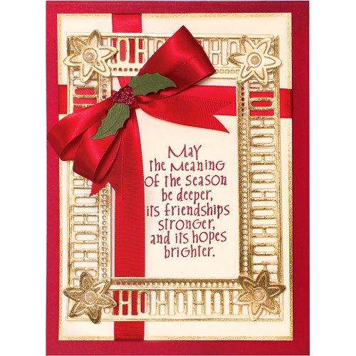 Spellbinders Shapeabilities Dies By Becca Feeken-Charming Christmas Words