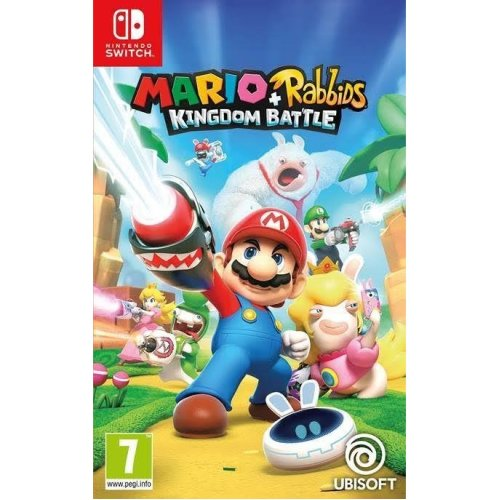 Mario and Rabbids Kingdom Battle Video Game Nintendo Switch