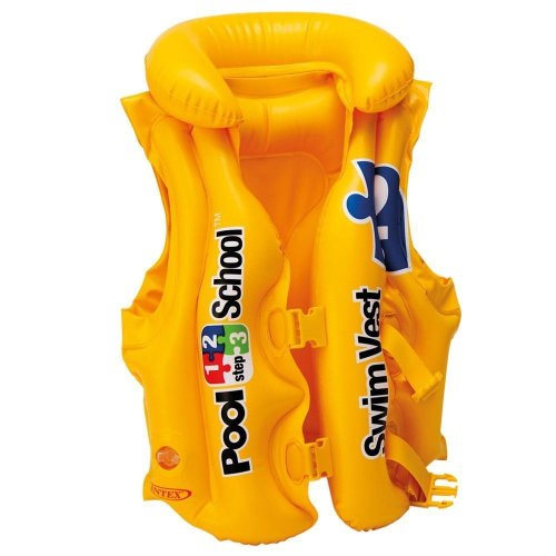 Intex Inflatable Childs / Kids Pool School Deluxe Swim / Buoyancy Vest