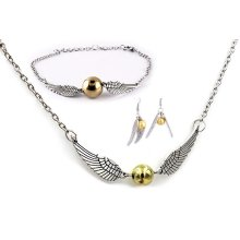 Golden Snitch Jewellery Set - Harry Potter Quidditch Cosplay