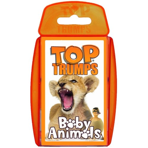 Baby Animals Top Trumps Card Game New Sealed