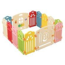 Surreal Castle Infant & Baby Playpen - 14 Panels