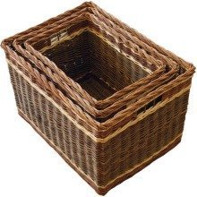 Set of 3 Windemere Log Baskets