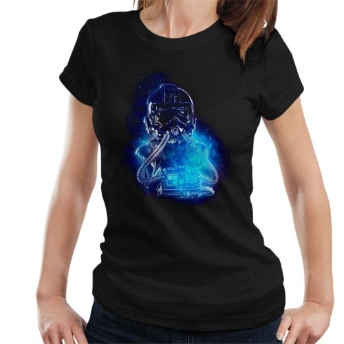 Original Stormtrooper Imperial TIE Pilot Space Women's T-Shirt