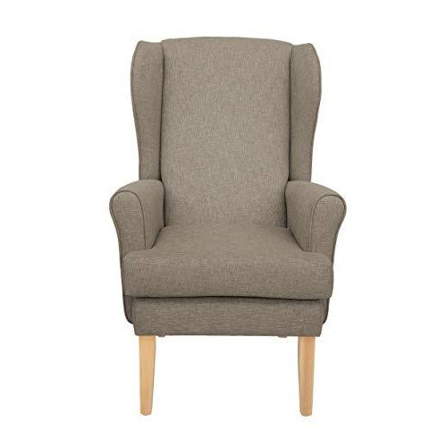 MAWCARE Highland Orthopaedic High Seat Chair - 21 x 18 Inches [Height x Width] in High Mushroom (lc21-Highland_h)