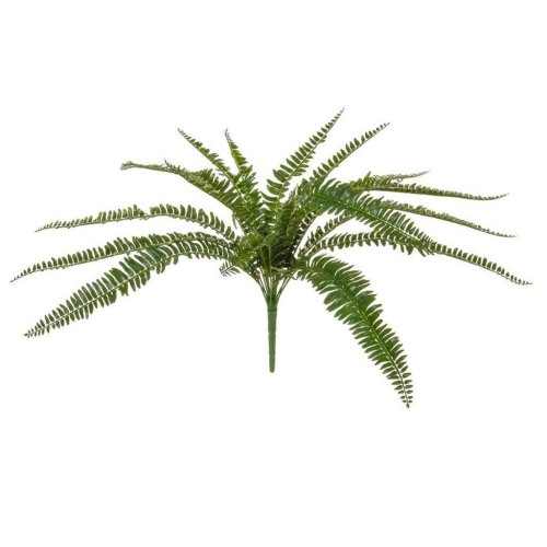 Artificial Boston Fern - 55cm - Faux Green Plants - UV Resistant