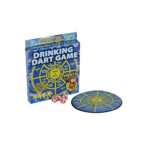 Fairly Odd Novelties Take a Shot Adult Party Drinking Dart Game