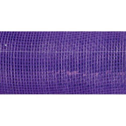 "Decorative Mesh Roll 21""X10yd-Purple"
