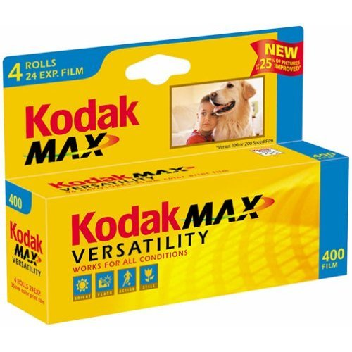 Kodak GC135 24 4H Gold Max 400 Speed 24 Exposure 35mm Film 4 Pack