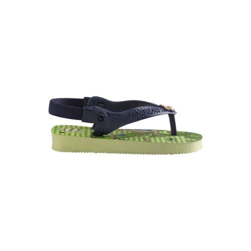Havaianas Baby Pets Green Flip Flops UK 1-2