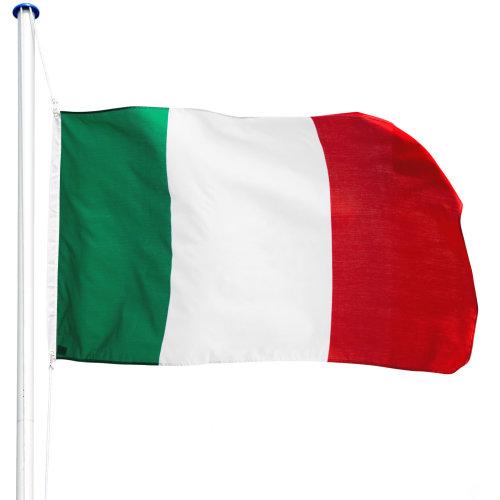 Flagpole aluminium Italy