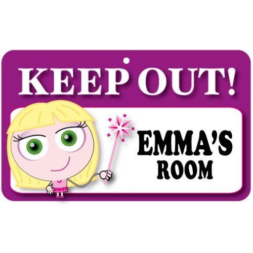 Keep Out Door Sign - Emma's Room