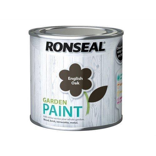 Ronseal 37381 Garden Paint English Oak 250ml