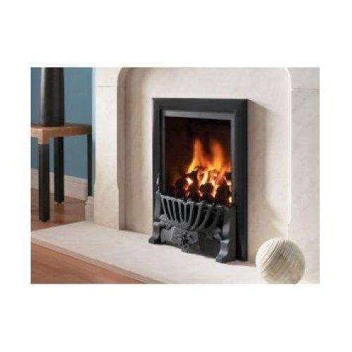 Designer Fire - Flavel FRDC26MN Black Kenilworth Traditional Gas - MC