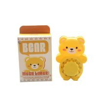 "[YELLOW]4.3""CuteBear Suspensibility Mechanical Kitchen Timer/Reminder-60 Minutes"