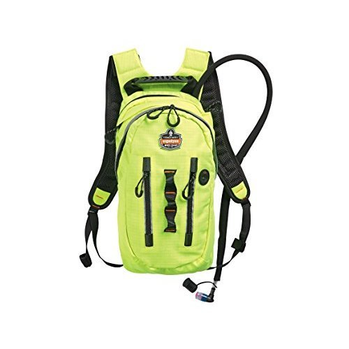 Ergodyne Chill Its 5157 Premium Cargo High Visibility Hydration Pack Lime