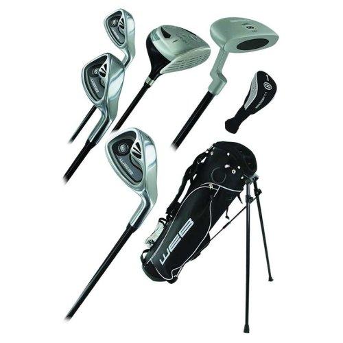 Go Junior Childrens 7 Piece Golf Starter Kids Package Set Age 13-16 Left Hand