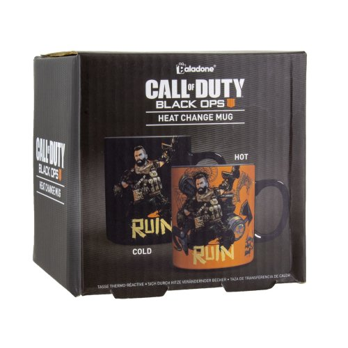 Black Ops 4 Call Of Duty Heat Sensitive Changing Mug - Ideal For Coffee Or Tea