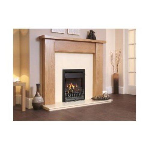 Designer Fire - Flavel FOPC37SN Silver Richmond Plus Gas Fire - SC