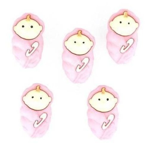 Baby Girls - Novelty Craft Buttons & Embellishments by Dress It Up