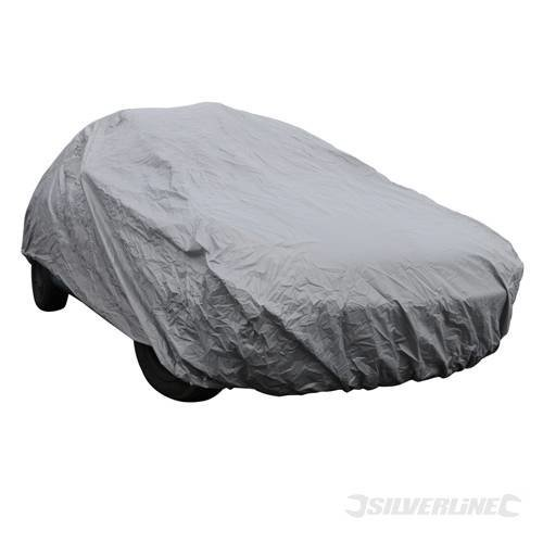 Silverline Car Cover 4310 x 1650 x 1190mm (m) - M 220393 -  x car cover 1650 m 4310 1190mm silverline 220393