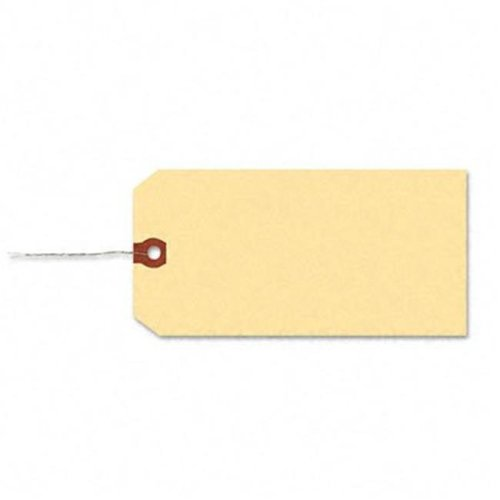 Shipping Tag with Reinforced Eyelet  Paper/Double Wire  2-3/4 x 1-3/8  MLA  1000/Pk