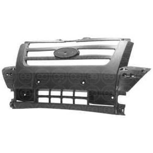 FORD TRANSIT MK7 2006 to 2013 NEW FRONT BUMPER CENTRE IN DARK GREY