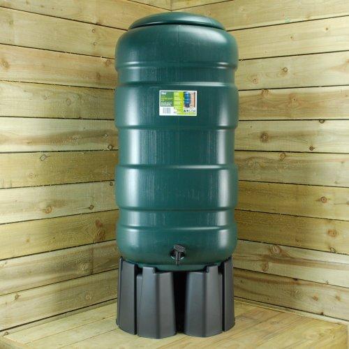 G29WB25G - 250 Litre Garden Water Butt Kit with Stand & Rain Water Diverter
