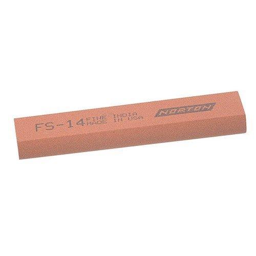 India 61463687175 FS44 Round Edge Slipstone 115mm x 45mm x 13mm x 5mm - Fine