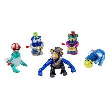 Set of 5 Circus Themed Animal Wind-up Toys